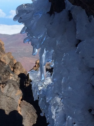 ice on Teide