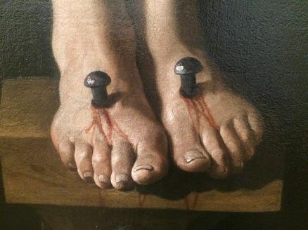 christ feet