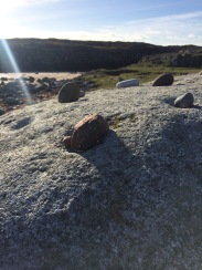 sun on ringing stone
